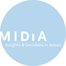 Midia Logo in Circle with strapline