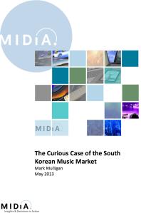 L'étrange cas du rapport sur le marché de la musique sud-coréenne