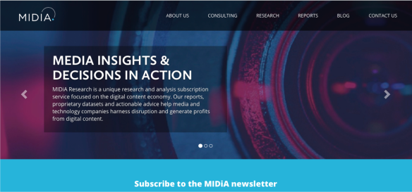 midia site front page