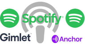 spotify gimlet anchor podcasts midia